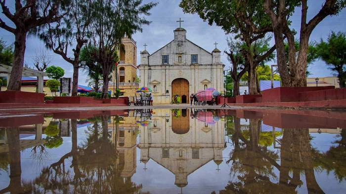IN BANTAYAN. The Saints Peter and Paul Parish in Bantayan is among the heritage churches featured in the mobile exhibit.