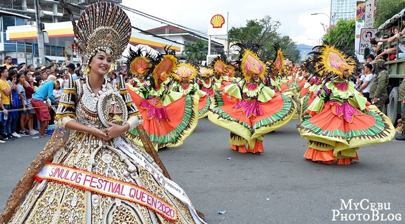 Back in the Streets for the 2020 Sinulog Grand Parade