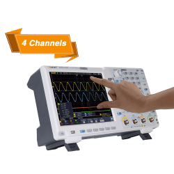 4-Channels Digital Oscilloscope