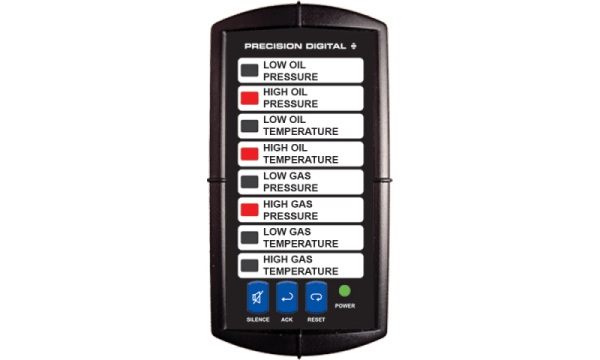 Precision Digital PD150 Vigilante II Series Alarm Annunciator