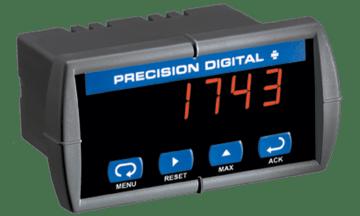 Precision Digital PD743 Sabre T Low-Cost Temperature Digital Panel Meter