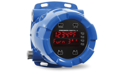 Worldwide Explosion-Proof Approvals Thermocouple or RTD Input Dual Line Display