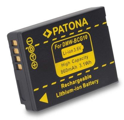 Acumulator tip Panasonic DMW-BCG10E DMW-BCG10 akku Pat BCG10E 1