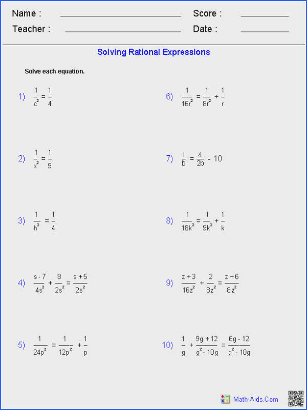 Algebra 2 5 8 Radical Equations And Inequalities