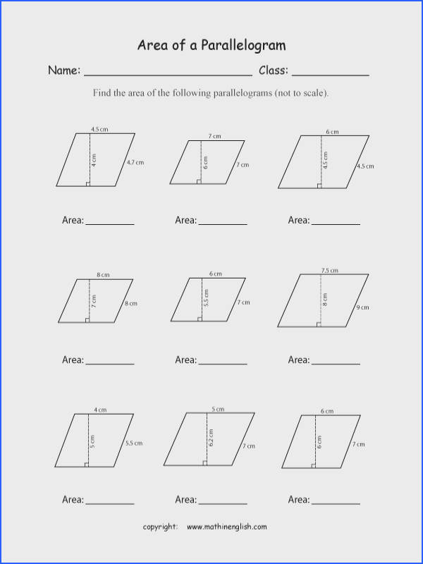 Puzzle Parallelogram Scramble Answers Properties Of