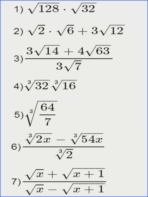 Simplifying Radical Expressions Worksheet Answers