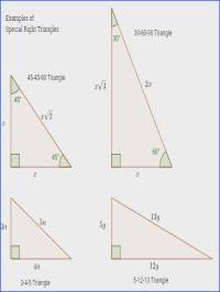 Special Right Triangles 30 60 90 Worksheet Answers ...