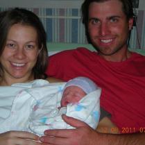 1st family pic, 12/08/2011