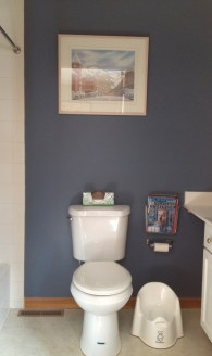 New painting over the toilet