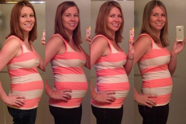Postpartum Progress - 1 week / 3 months / 5 months / 9 months