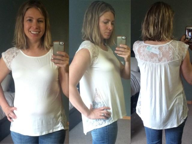 Stitch Fix Lace Shirt