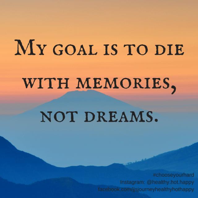 Memories, Not Dreams