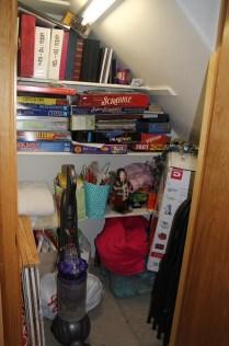 Game/misc. closet