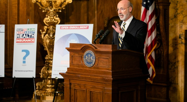 Gov. Wolf: Now is the Time for Pennsylvanians to Buy Health Insurance