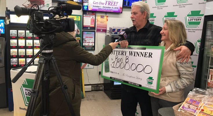 PA Lottery Presents Commemorative Check to Winner of $1 Million Holiday Scratch-Off
