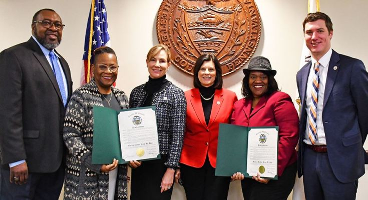 Commissioners Proclaim January 20 as Martin Luther King Jr. Day in Chester County