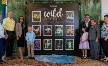 U.S. Postal Service Issues Wild Orchids Stamps