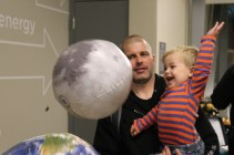 Even our littlest of guests can find things to explore in to the Energy exhibit.