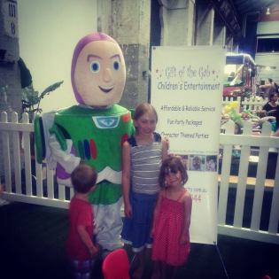 Buzz Lightyear Visit at the 2014 Sip and Savour