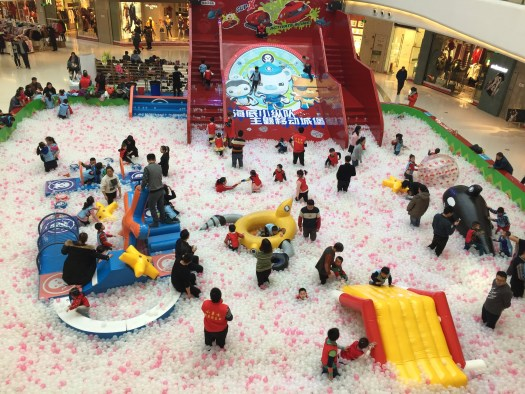Mall entertainment for kids