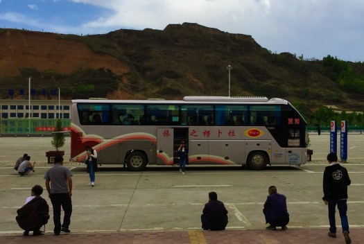 Bus to Xiahe