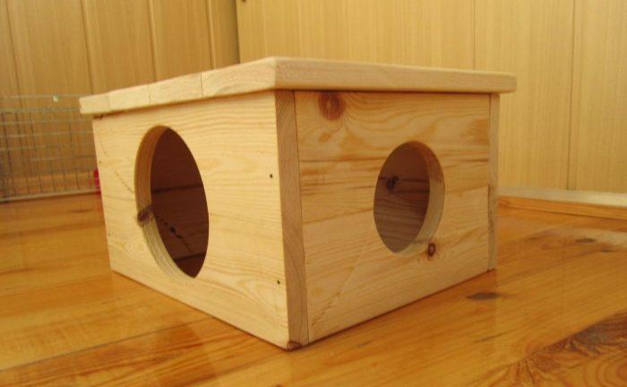 домик для шиншиллы
