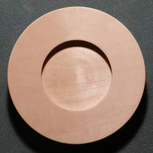 Candle Dish Plate