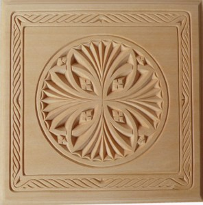 Trivet, Rope border with Rosette Pattern – Adobe (pdf)