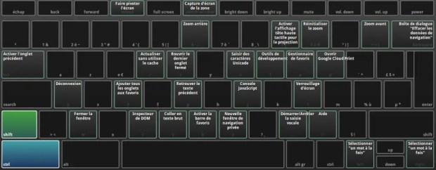 clavier chromebook
