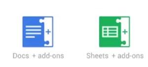 google docs add-on