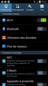 Point d'accès wifi android 1
