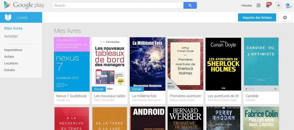 Google Play livre sur Chromebook