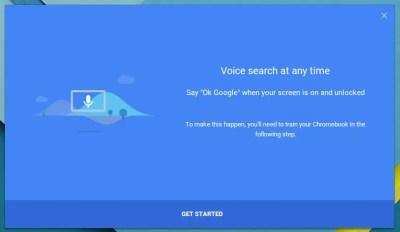 OK GOOGLE : LA RECHERCHE VOCALE PARTOUT ET TOUT LE TEMPS SUR CHROMEBOOK