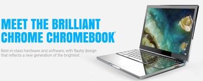 Un nouveau Chromebook appelé sobrement «Chrome»