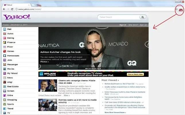 Améliorez l'affichage en mode tablette des sites web sur Chromebook