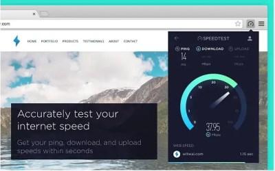 Tester votre débit internet sur Chromebook