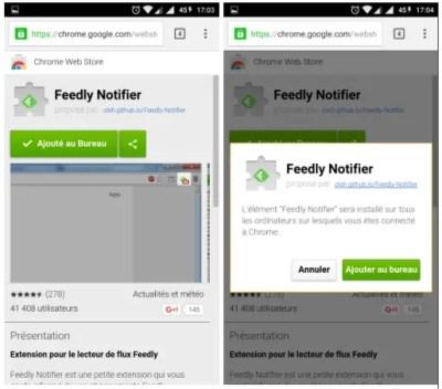 Télécharger des applications Chrome sur votre Chromebook depuis Android