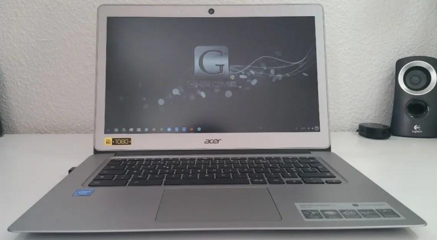 Le ACER Chromebook 14 décortiqué par Sony