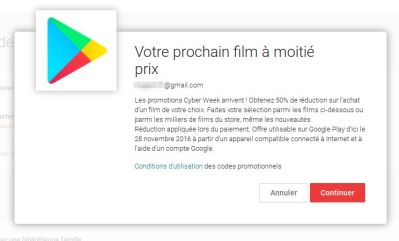 Google a son propre Black Friday sur le Google Play store