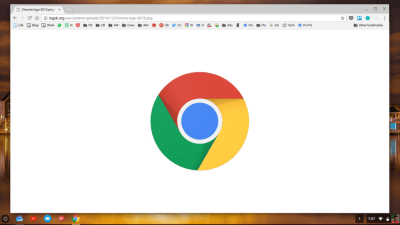 Chrome affiche désormais les images au centre de l'écran