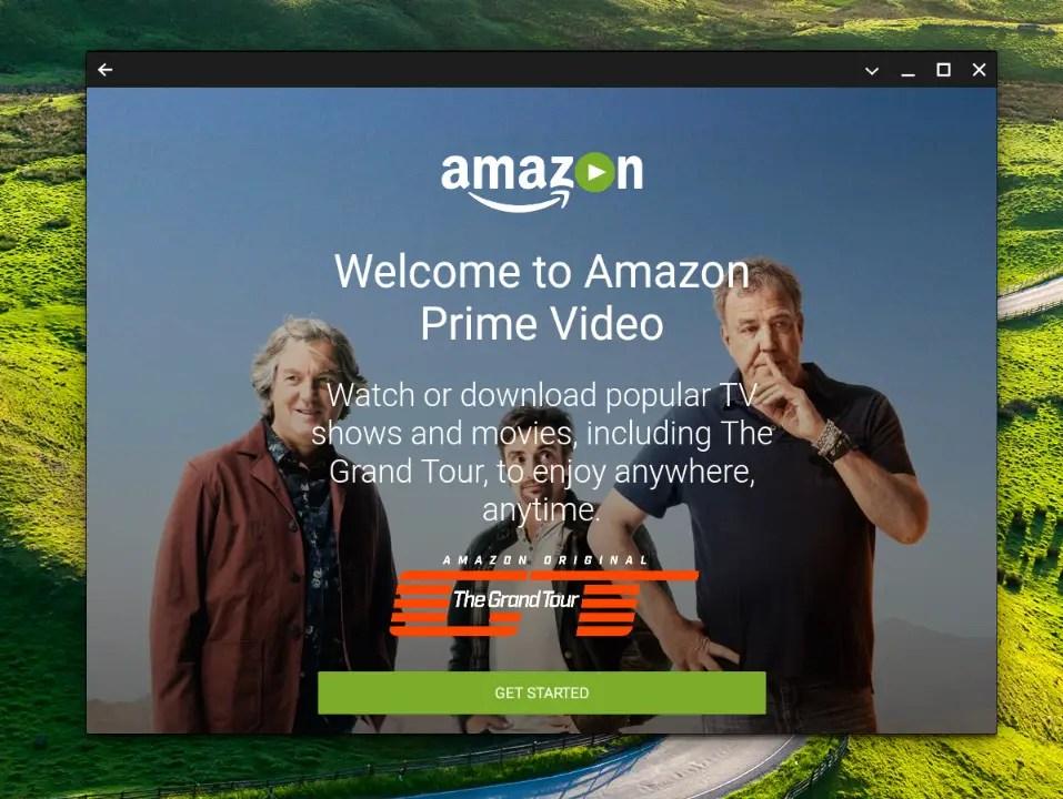 Amazon Prime vidéo est disponible en france et sur Chromebook