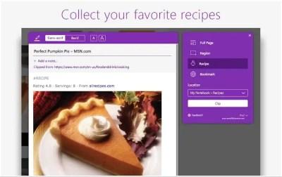 Capturez et annotez le Web avec l'extension OneNote Clipper pour Chrome