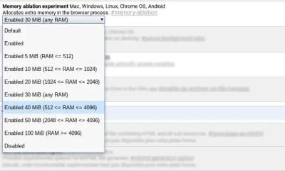Comment ajouter de la mémoire pour les processus Chrome