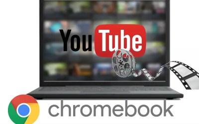 Le montage vidéo sur Chromebook 1ère partie : Youtube