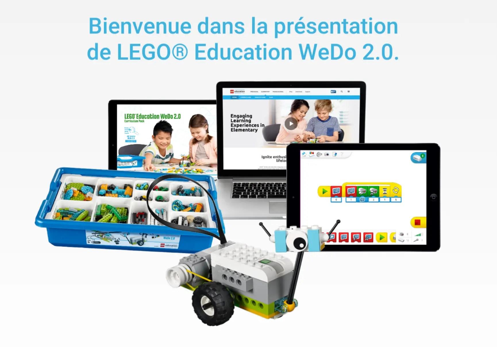 lego education wedo 2 0 l 39 application qui offre les bases du codage informatique sur chromebook. Black Bedroom Furniture Sets. Home Design Ideas
