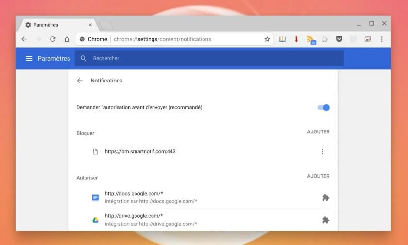 Comment Bloquer Les Demandes De Notification Pop Up Sur Chrome Et