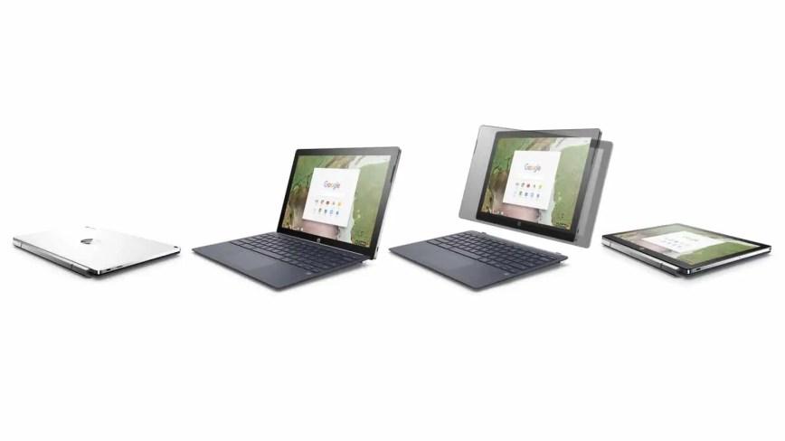 HP dévoile le premier Chromebook amovible