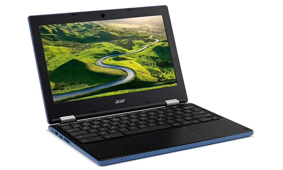 Acer Chromebook CB3-131-C4SG Ouvert