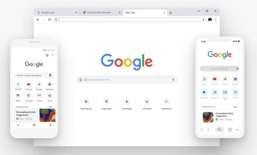 Google Chrome version 68