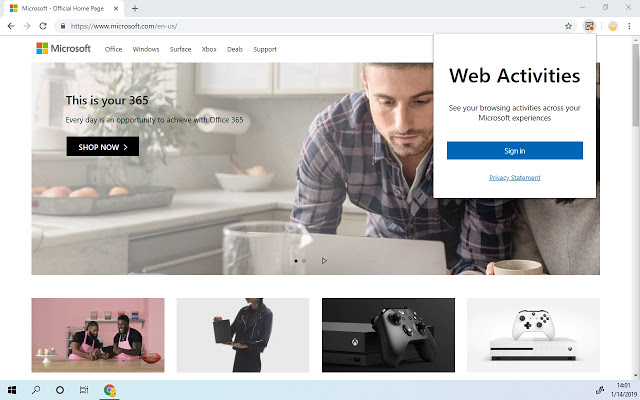 Microsoft lance l'extension Chrome Timeline de Windows 10